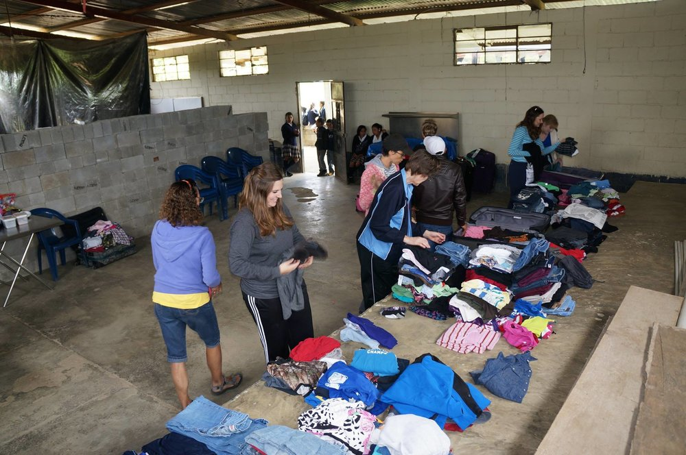 Clothing Donations and Distribution