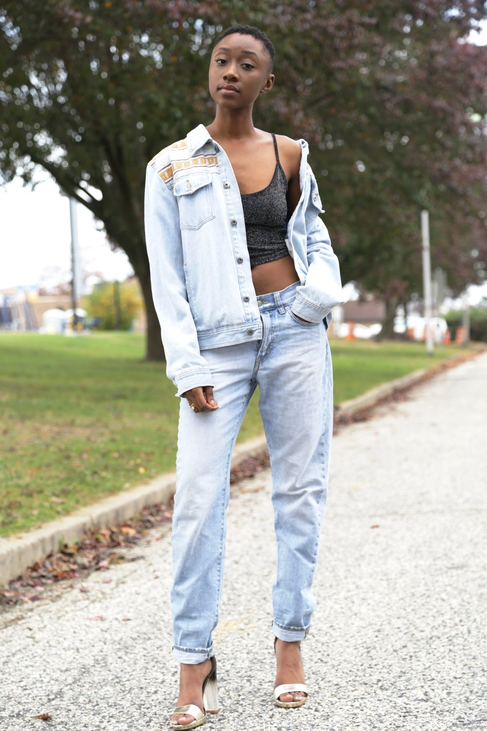 Canadian tux - Dress your all denim look, from day to night