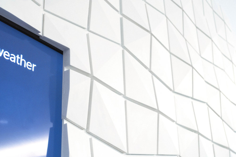 VVOXSTUDIO Fabrication NYC - Microsoft Executive Business Center