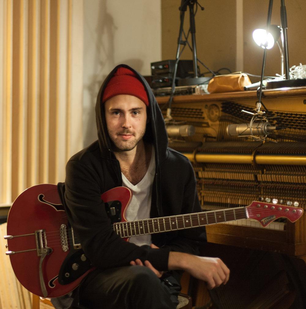 Johan Granberg - El-guitar