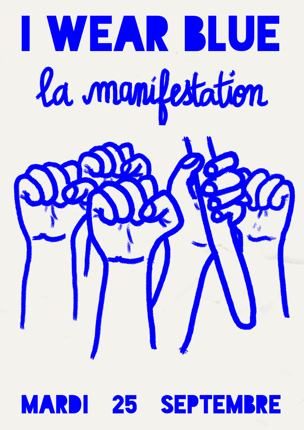 LA MANIFESTATION - All dayPerformance protest in the streets of Paris to spread Worker's voice