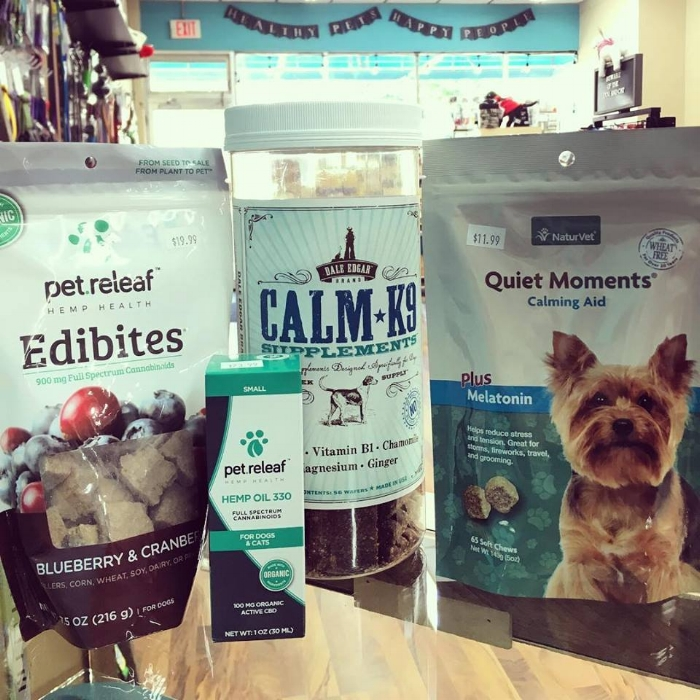 Voila! Calming supplements for both dogs and cats! Now you don't have to stress and neither do your pets!