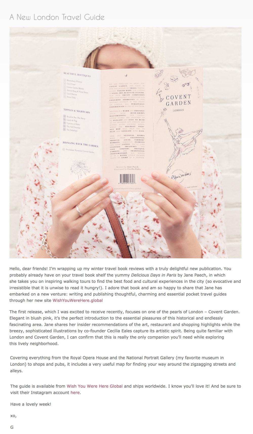 Geogianna Lane - Author of 'Paris In Bloom' -