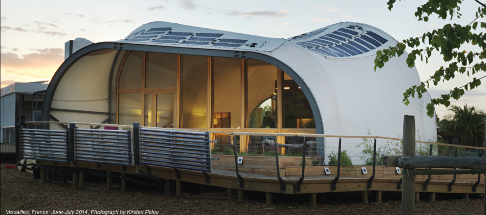 Fig. 2 Techstyle Haus at the Solar Decathlon 2014