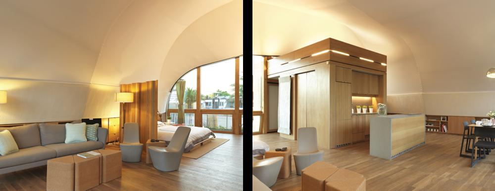 Fig. 8 Techstyle Haus Interior