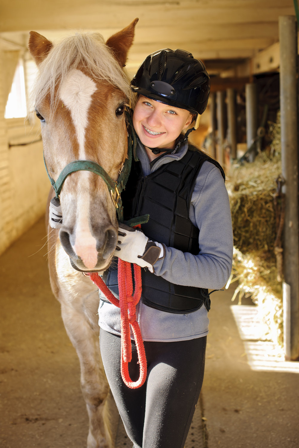The equestrian program includes: 1) riding lessons, 2) equine themed activities in other subjects, 3) equine science, 4) 30-60% of each of the Ontario Secondary School physical education & health courses in outdoor activities for grades 9-12 (PAD1O/PAD2O/PAD3O/PAD4O)