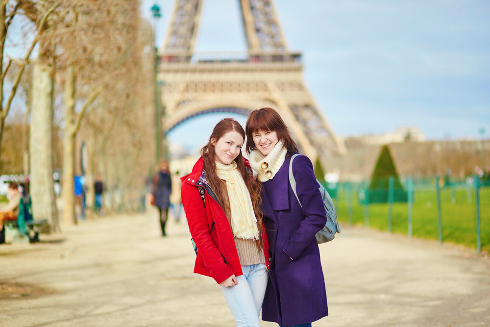 The graduation year end trip is the student-planned graduation trip to France. Students do all the planning, budgeting, marketing, and use the French language skills they've learned by taking French though out their time at Odyssey Heights School for Girls.