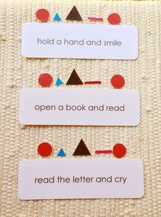 Montessori Grammar Sentences symbols and sentence cards.jpg