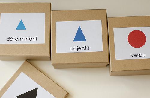 Montessori.francais.GrammarSymbols.inCardboardBoxes.jpg