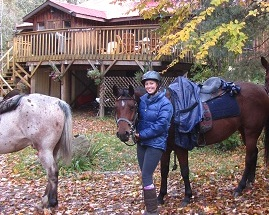 A  three day horseback riding trip to Algonquin Eco-lodge . The student council will have to make reservations early to reserve the dates , as this is very popular!   (All students will have to pass two swim tests - one in a pool, and one in open water - before the trip as the Eco-lodge is on a lake.)   Click on the image to learn more.