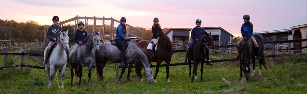 Partridge Horse Hill Equestrian Facility   in the beautiful Kawartha Lakes area, in the small town of Pontypool, just 75-90 minutes from our Toronto campus.   [Photo PHH riders 2018 - used with permission of Lindsey Partridge. Look for a cover photo of OHS girls at Partridge Horse Hill in Fall 2019.]