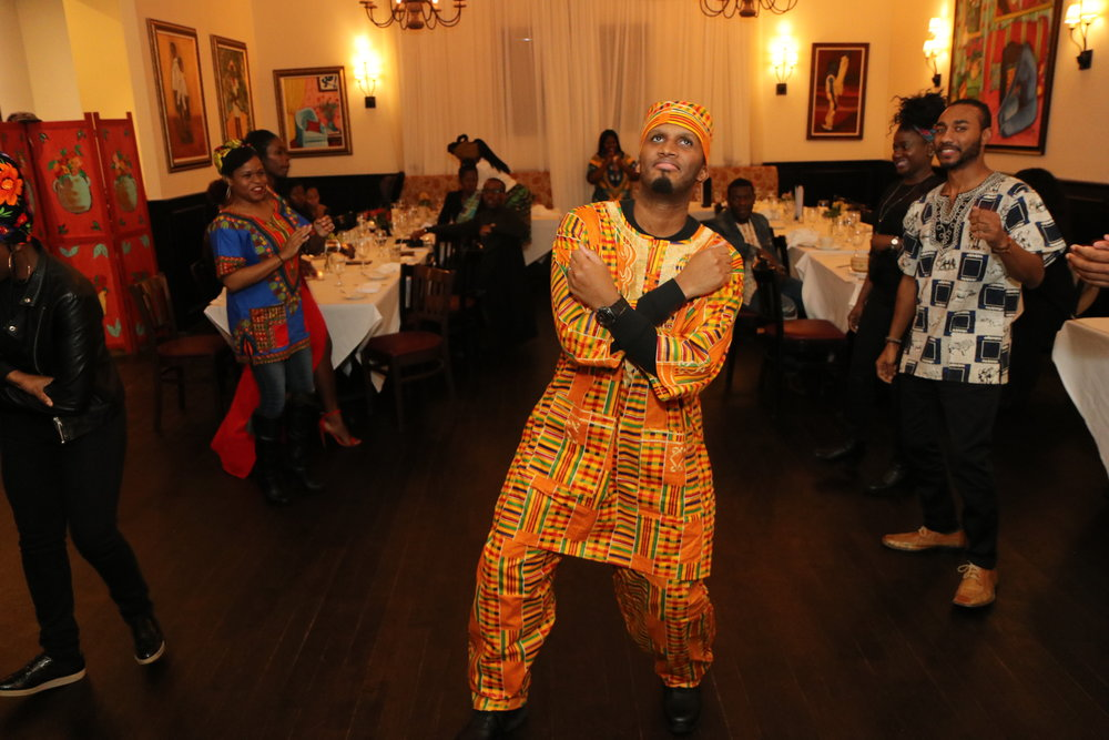 After dinner dance off at Alvin & Friends, New Rochelle, NY                                                                    Photographer/Kelon Miller