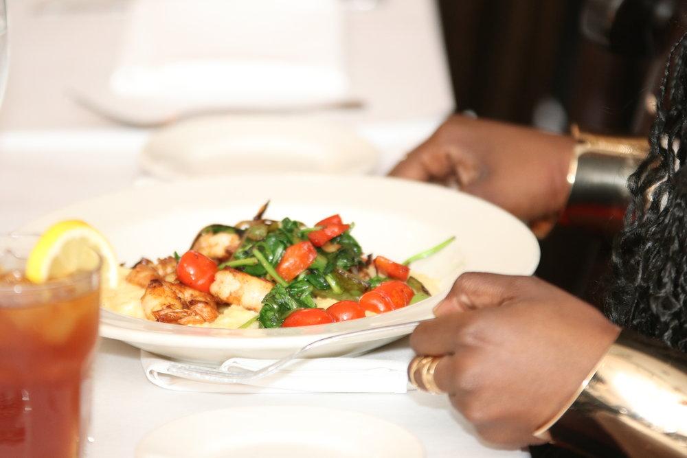 Shrimp & Grits at Alvin & Friends, New Rochelle, NY                      Photographer/Kelon Miller