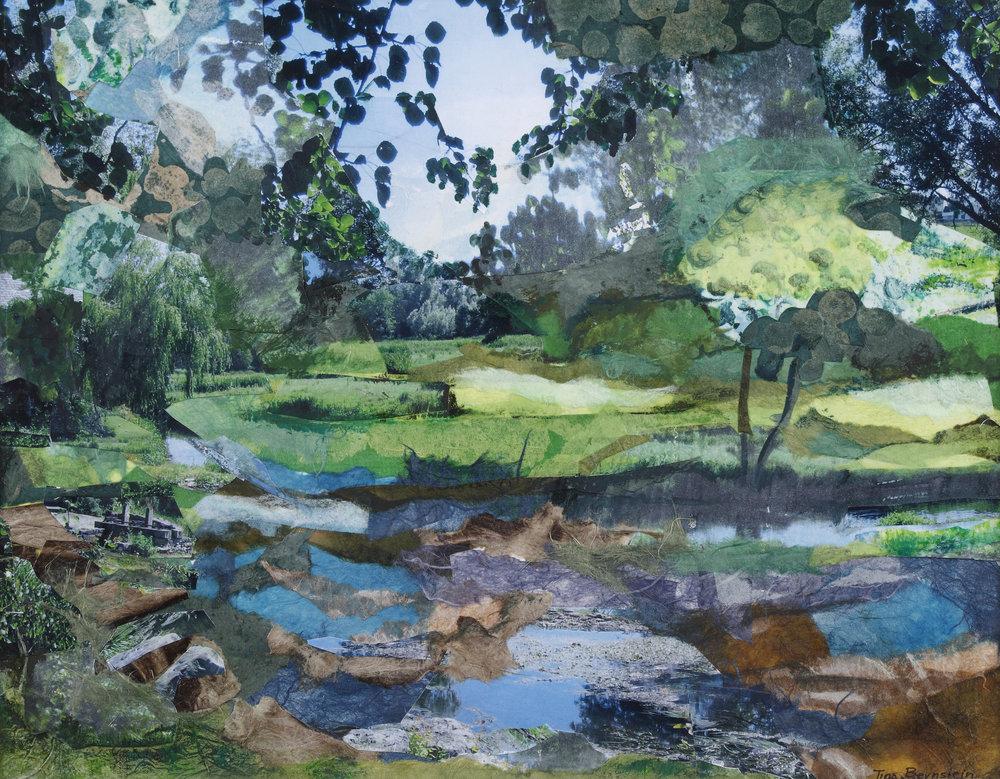 Green Serenity In Ireland