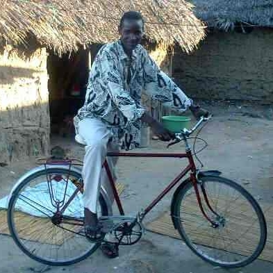 fiets in Mozambique