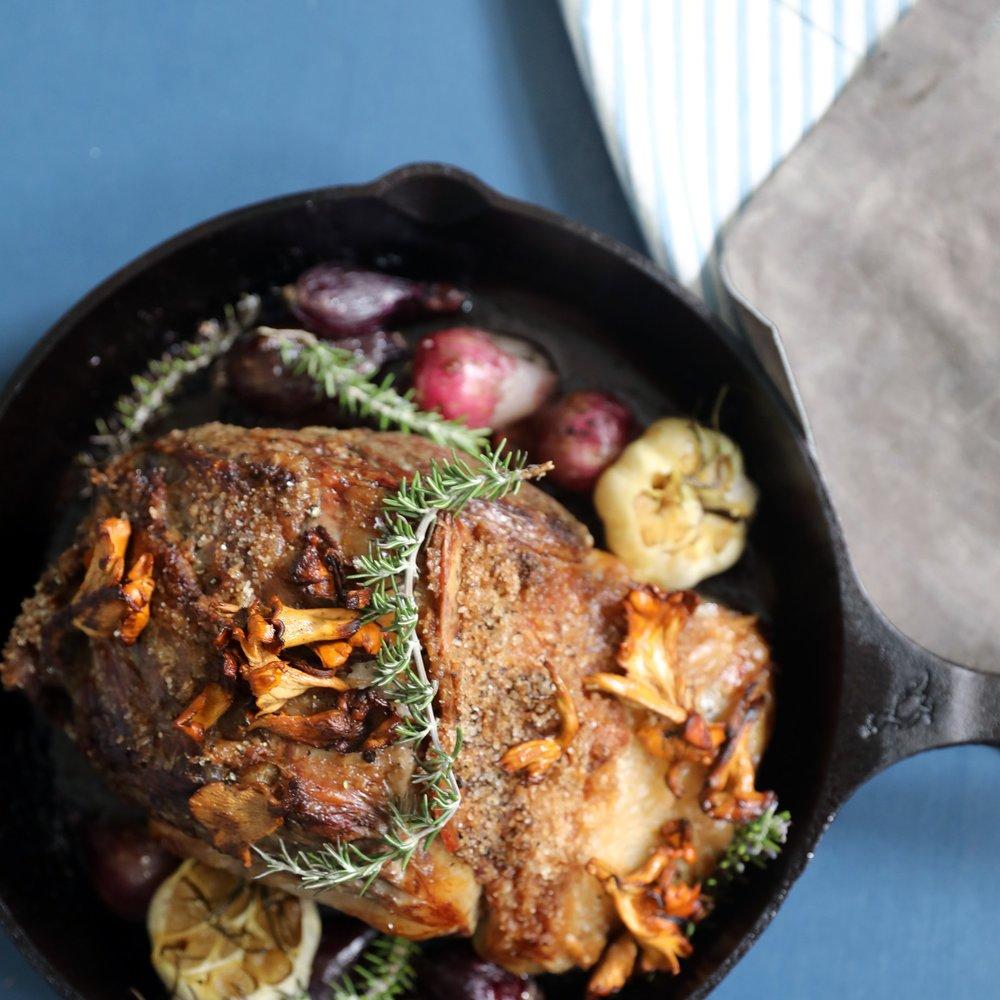 Celebration Rib Roast recipe — shot for the social program @ Smithey Ironware Company