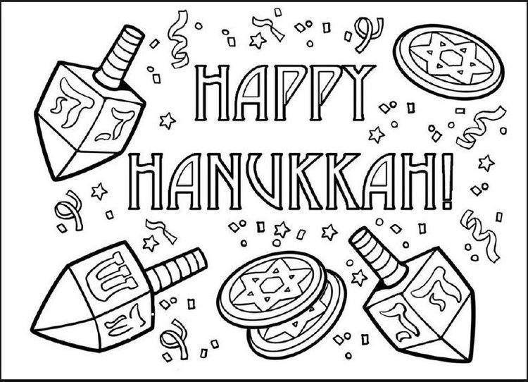 Kids Coloring Printouts — Simply Hanukkah