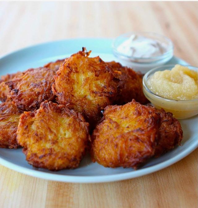 Has anyone already made #latkes this year yet? Any good recipes to share?