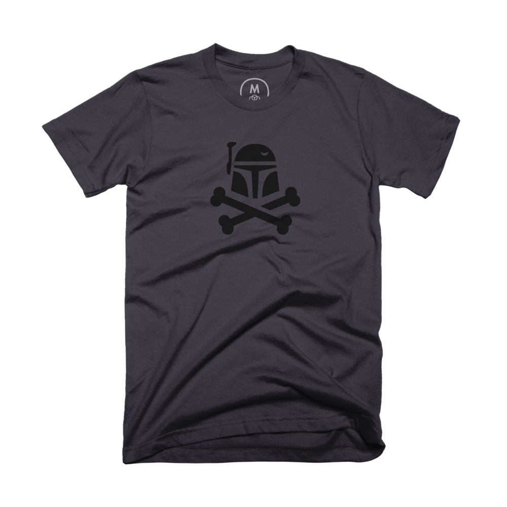 The Jolly Boba - Like Pirates and Star Wars bounty hunters? This is the shirt for you.Out of Stock