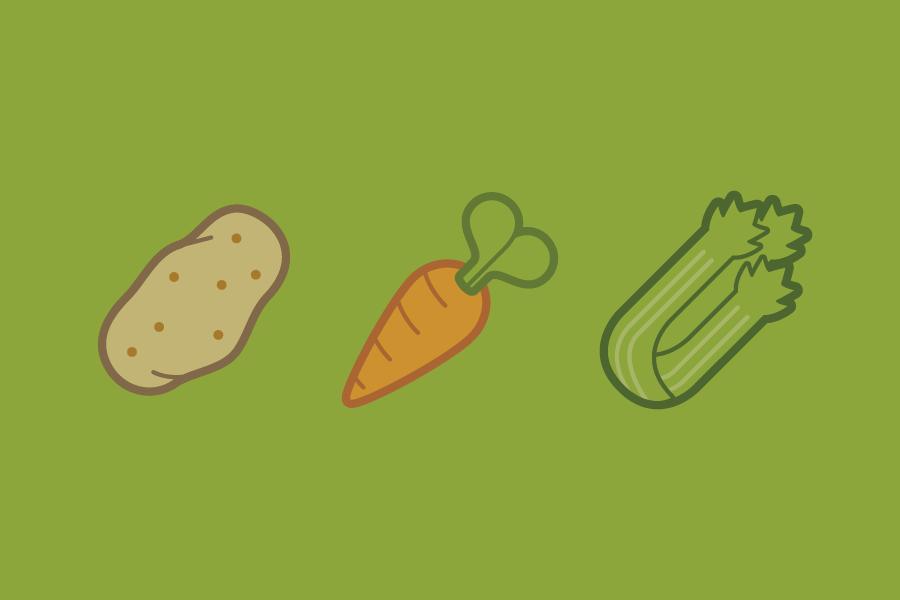 Veggie Icons -