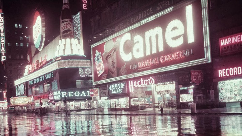 Camel Signs in Times Square, NYC from the 1940s to 1960s (17).jpg