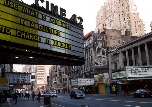 Cine 42 in 1993. (Photo: Gregoire Alessandrini)
