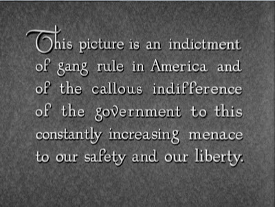 Scarface , 1932 (title card)