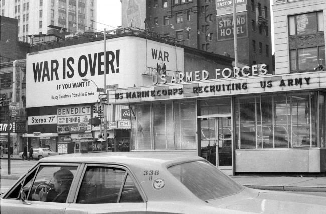 WAR IS OVER!, 1969