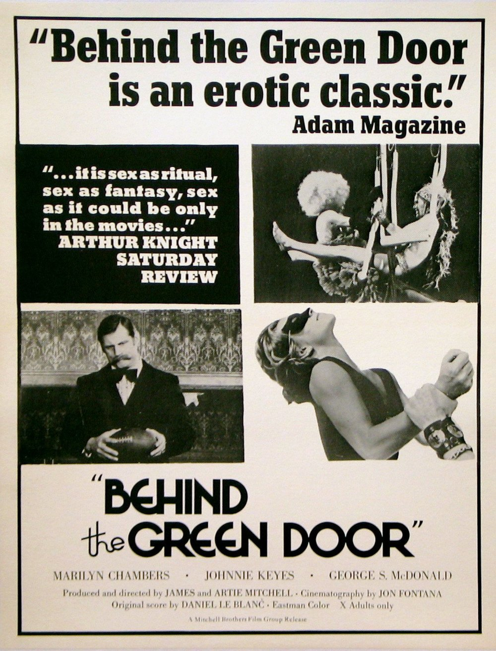 Behind the Green Door , 1972