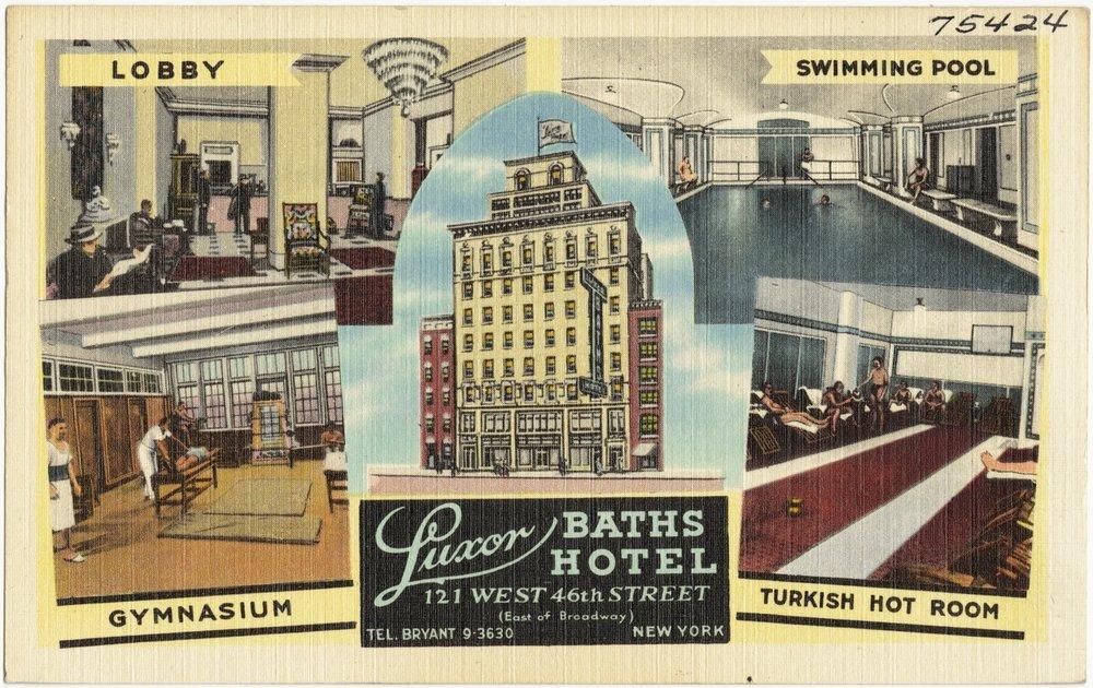 the original Luxor Baths Hotel