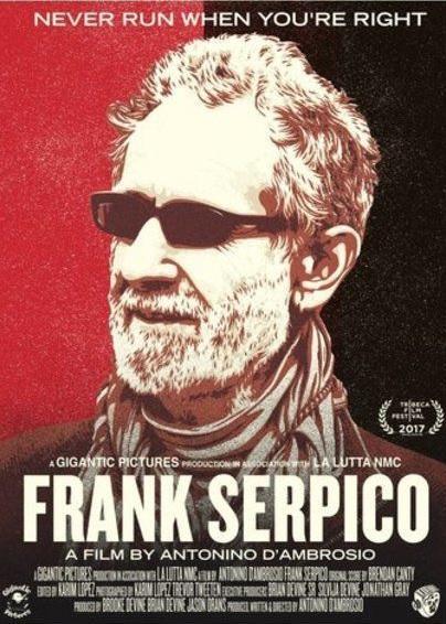 Frank Serpico , 2017
