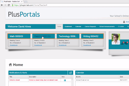The Portal - Grades, Syllabi, Teacher Communication