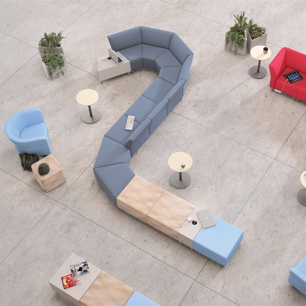 collaborative seating -