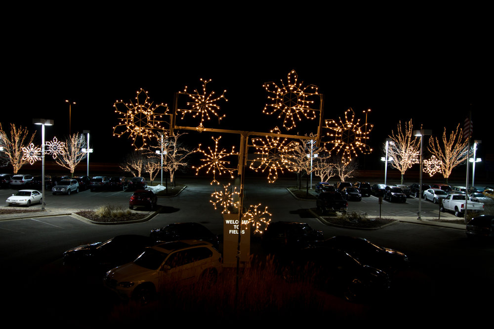 Commercial Holiday Lighting Displays