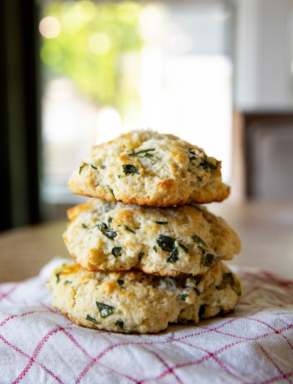 Basil Biscuits
