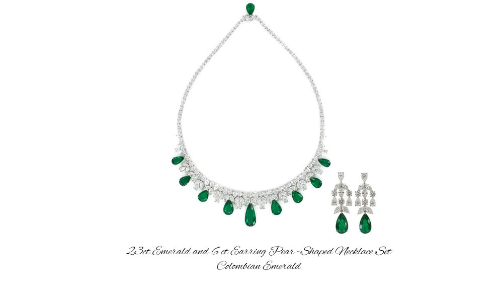 23 ct PS EM Necklace 6 ct Earrings Set.jpg