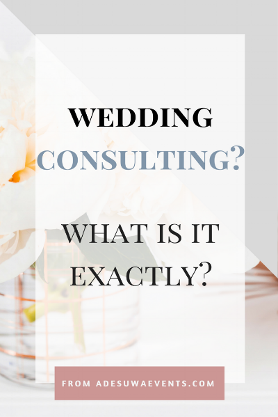 Wedding Consulting