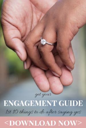 1st 10 things to do after getting engaged