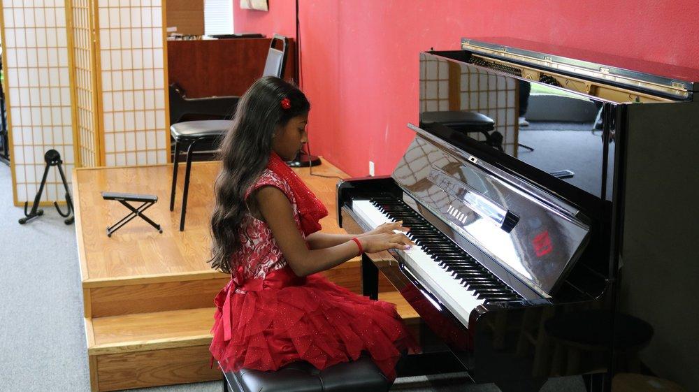 Aanya performing at the CCM Santa Clara recital October 29th