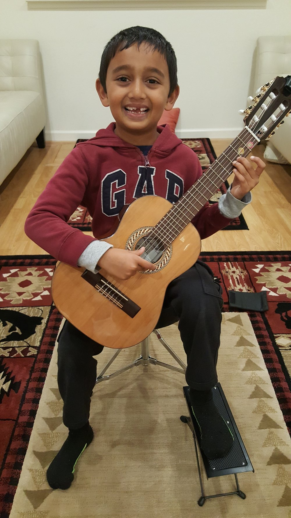 arjun playing guitar CCM