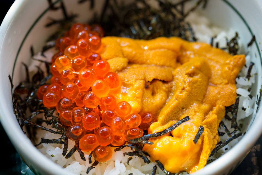 MIN ISTOCK Japanese-dish-of-salmon-roe-and-urchin-eggs-843118024_2124x1416.jpeg