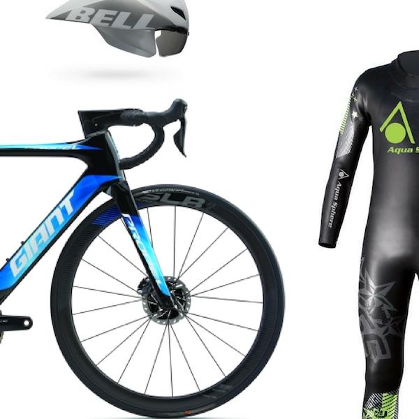 Deine komplette Triathlon Ausrüstung ist bei uns versichert. Fahrrad, Helm und Outfit.