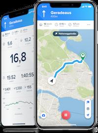 App: Bikemap Premium als Bikmo Prämie.
