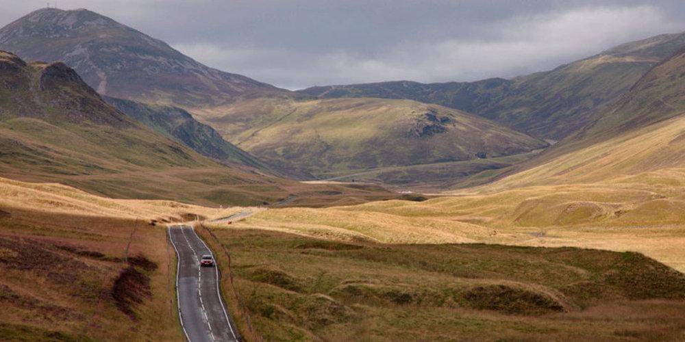 """Bild aus dem  Tour Magazin : """"End to end: Großbritannien bis Schottland"""""""