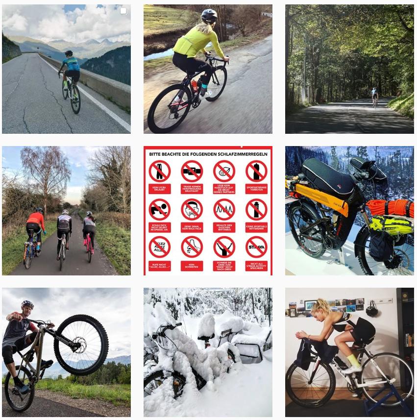 Wir teilen gerne unsere Bike Erlebnisse auf  Instagram  mit euch