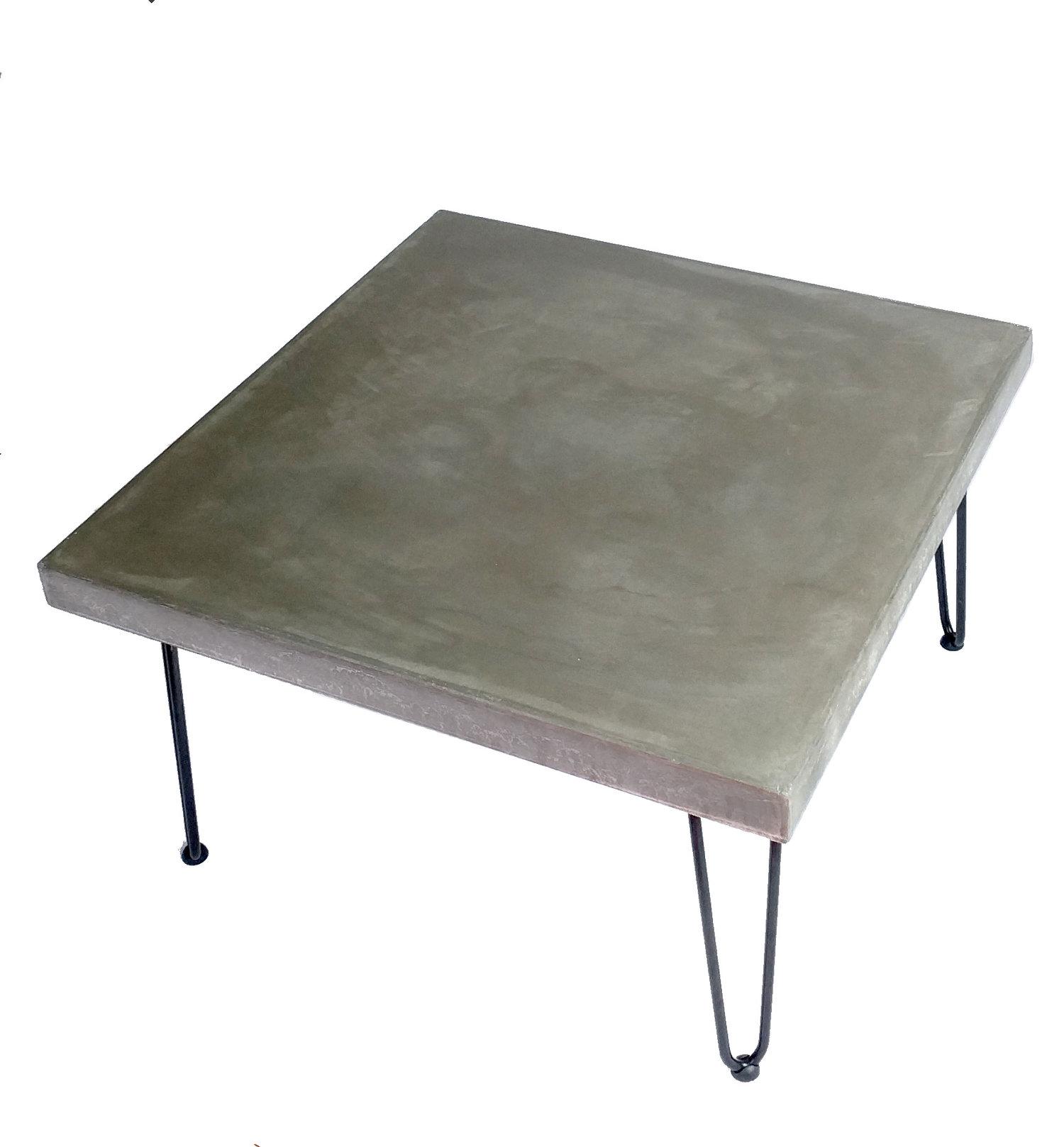 Square Concrete Coffee Table