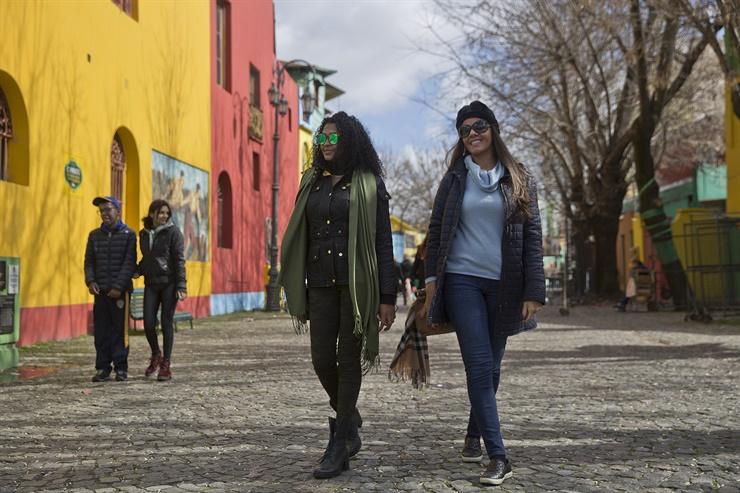 Desde Sao Paulo, Brasil. Natalia Souza y Roseli Rodrigues Fuente: LA NACION - Crédito: Fernando Massobrio