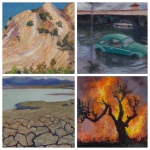 CAFourSeasons:Fire,Flood,Earthquake,Drought