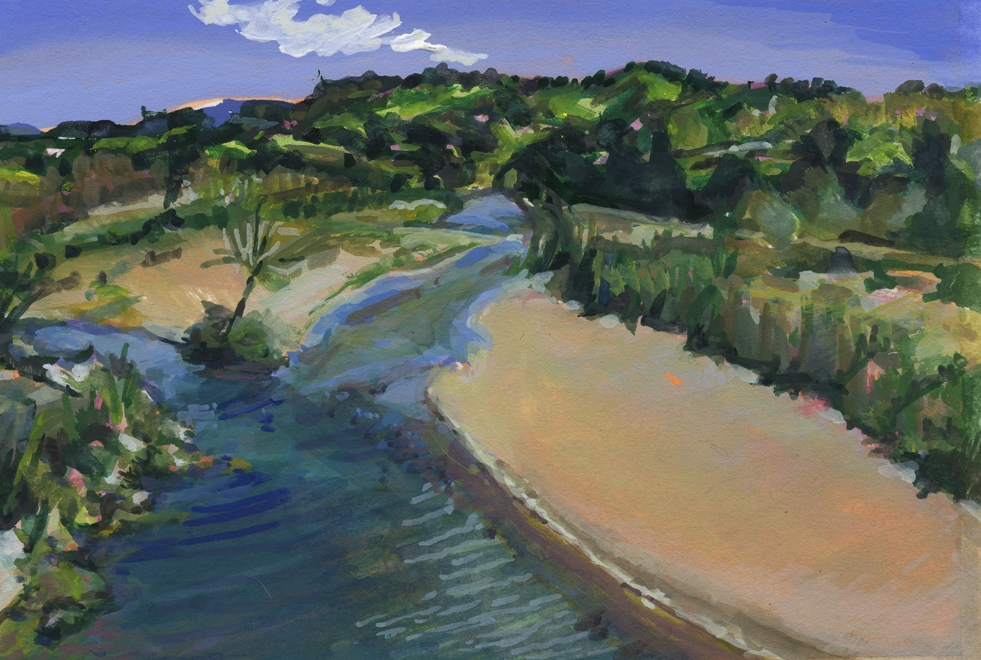 THE RIVER'S JOURNEY   One Year, Six Artists, Nintey-two Miles