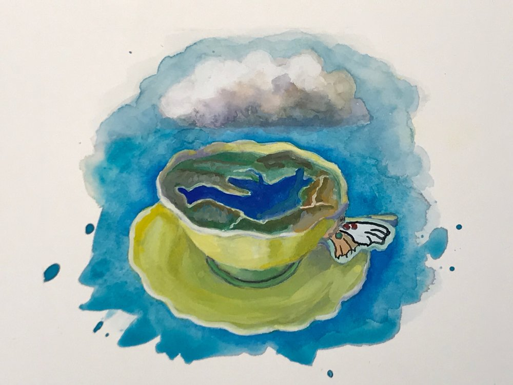 Juncal Dam as a Teacup -